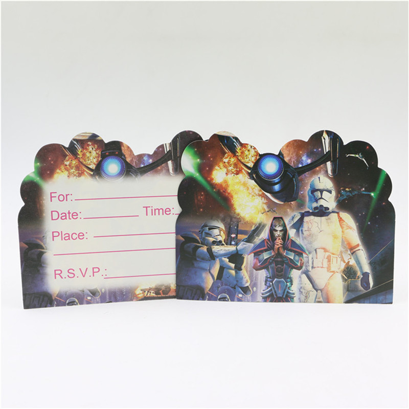 Online Get Cheap 1st Birthday Invitation Cards for Boys – Star Wars Birthday Invitations Online