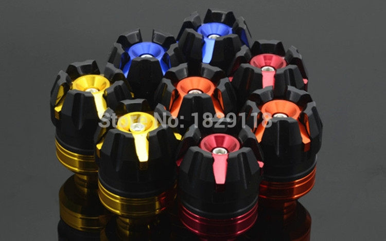 Universal Falling Protectors Motorcycle CNC Aluminum Frame Slider Anti Crash Caps engine protection for Honda kawasaki yamaha