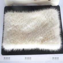 Реального норки шарфы женский норки меховые воротники теплые зимние шарфы воротник