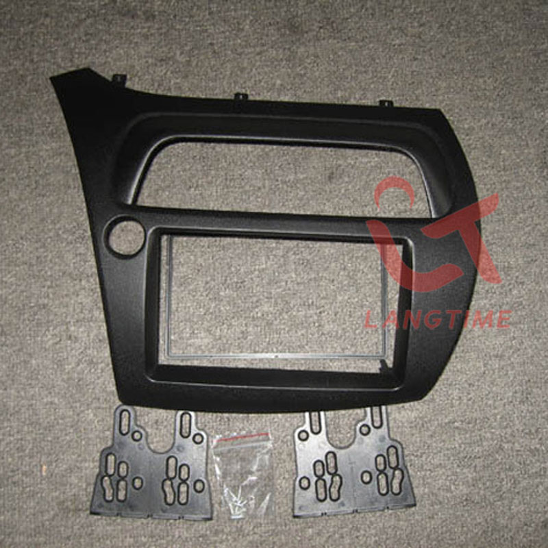 Car refitting DVD frame,DVD panel,Dash Kit,Fascia,Radio Frame,Audio frame for 2005-08 Honda Civic (L-type), 2DIN цена