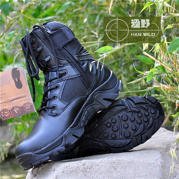 High Quality Men Tactical Police Military Army Boots With