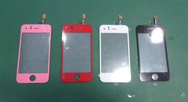 Newest!!! wholesale new touch screen for iphone 3GS colorful touch screen