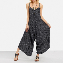 Womens Oversized Sexy Strapless Casual Loose Striped Beach Wear Backles