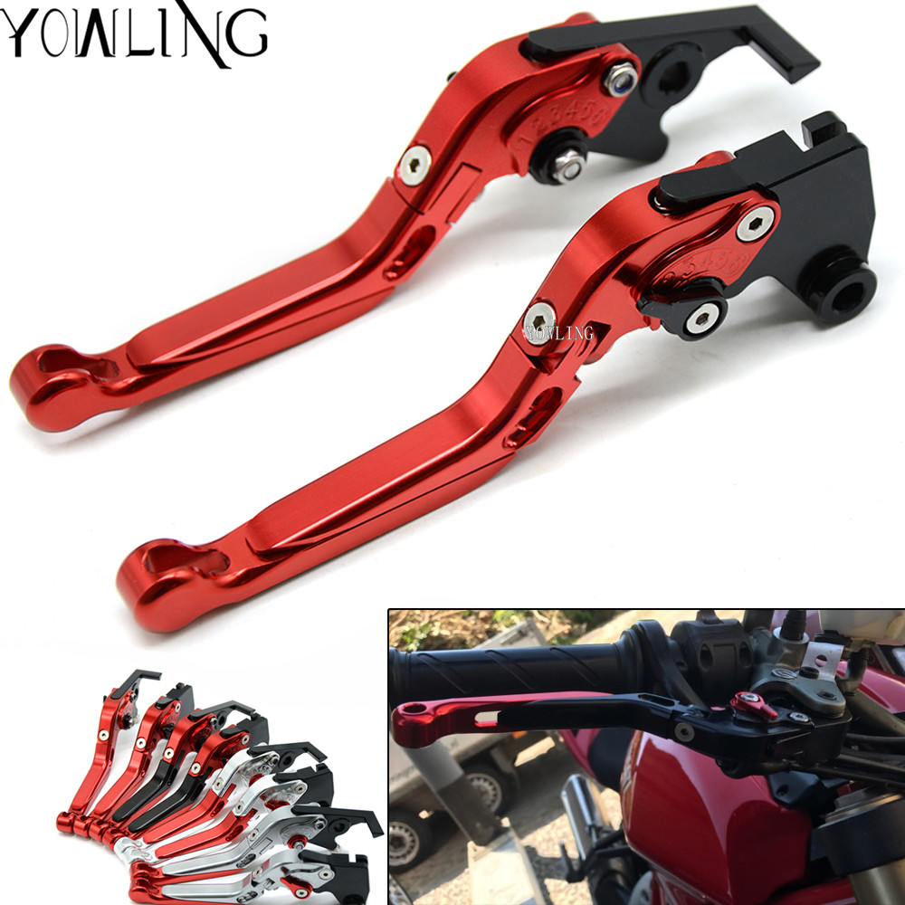 Adjustable Motorcycle Motorbike Brake Clutch Levers For ducati ST4/S/ABS 748/750SS 996/998/B/S/R 1999 2000 2001 2002