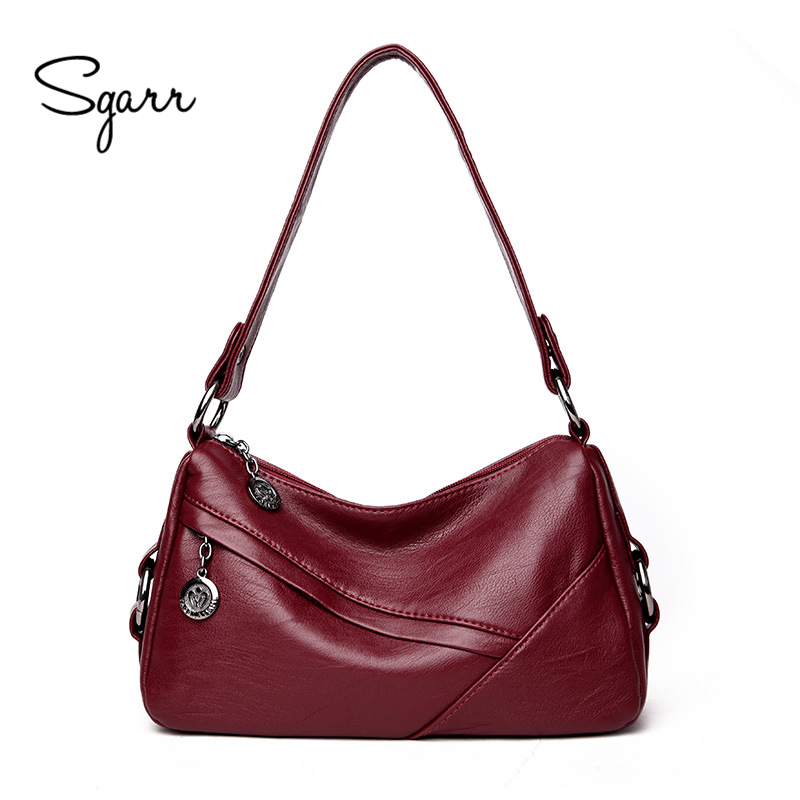цены  SGARR Small Casual Tote Bags For Women High Quality PU Leather Ladies Shoulder Bags New Fashion Female Crossbody Messenger Bag