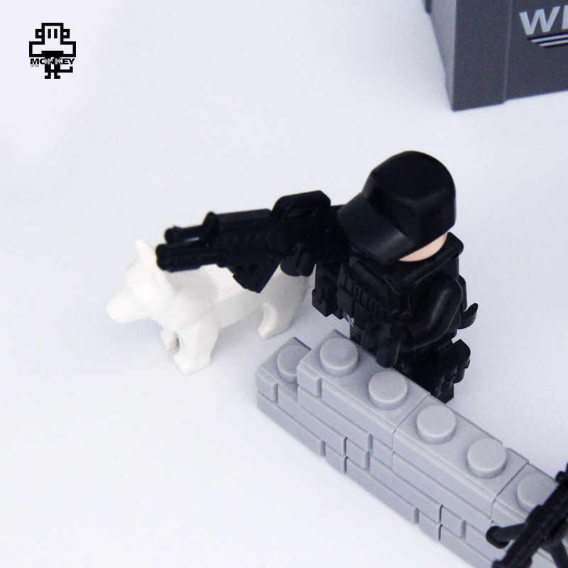 Legding игрушки Русский Италия США немцы Британский Польша солдаты строительные блоки рисунок Legoing Starwars кирпичная игрушка