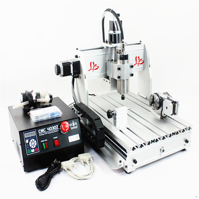 CNC Router 3040 Z-S 4 axis Engraving machine 800W wood milling machine eur free tax cnc router 3040 5 axis wood engraving machine cnc lathe 3040 cnc drilling machine