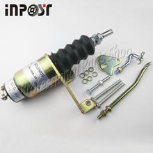 Solenoid Shutdown Kits For RSV Bosch SA-3800-24 1751-24 , 24Volt  Right-hand