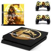 Vinilo PS4 Stickers Play station 4 piel Mortal kombat XI pegatina para PlayStation4 PS 4 consola y controlador pieles Pegatinas