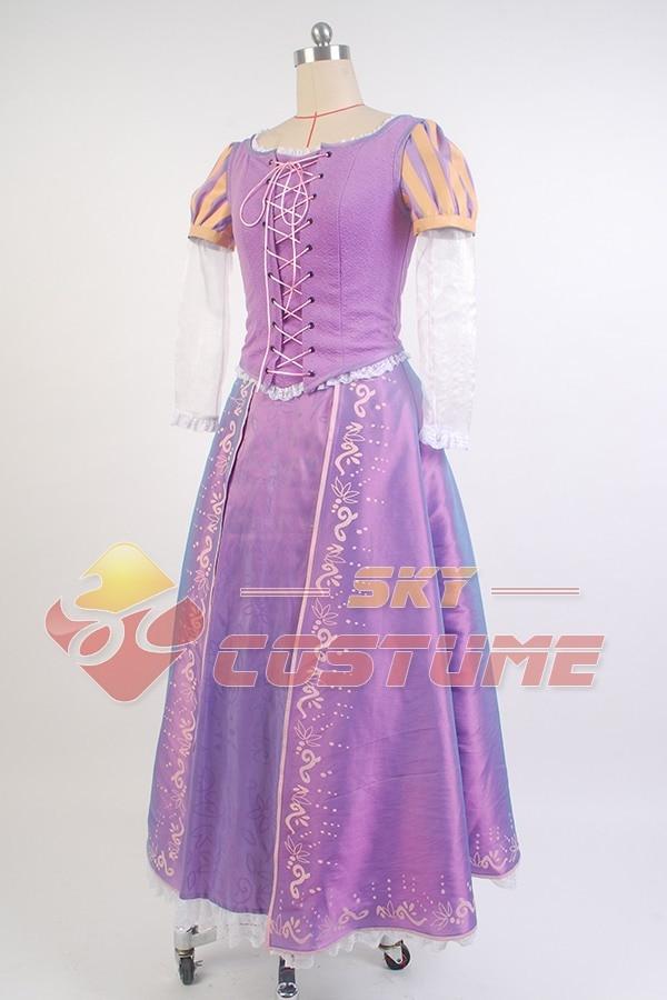 Niñas enredadas Princesa Rapunzel Disfraz Las Mujeres Adultas Visten - Disfraces - foto 2