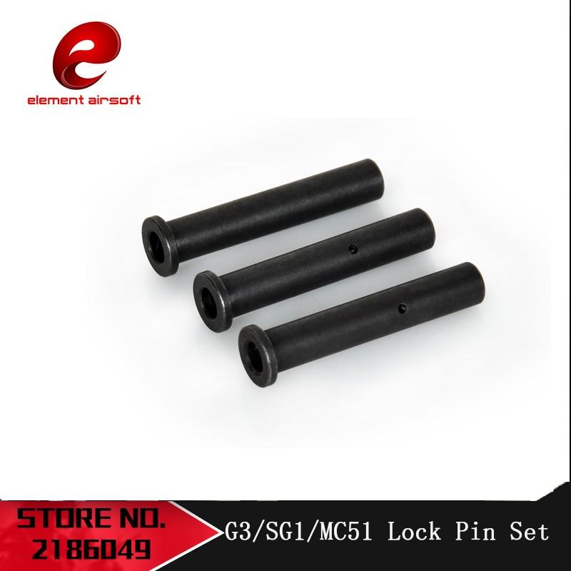 Element Tactical Airsoft AEG Full Metal Body Lock Pin Set Lock Pin Set G3 SG1 MC51 Rifle Gun Parts Hunting OT0412|Scope Mounts & Accessories| - AliExpress