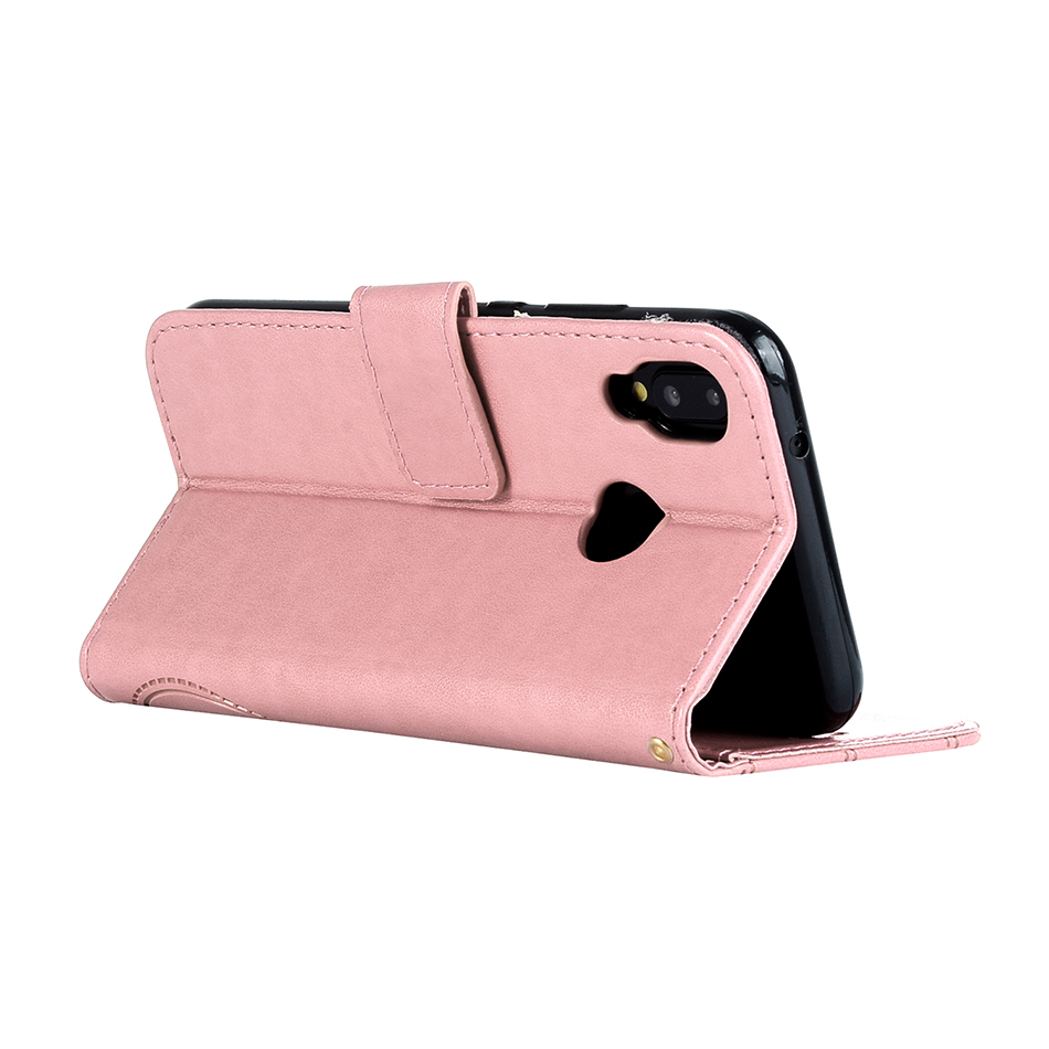 Leather Butterfly Phone Cases For Huawei Mate 10 Lite Enjoy 7S Y6 2017 P10 P20 Lite Fashion Wallet Magnetic Flip Cover Case B94