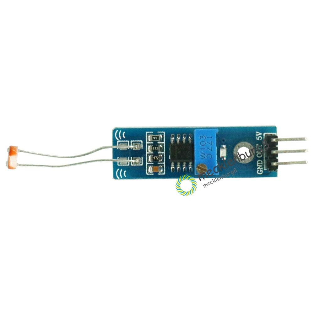 2 Stücke. Photowiderstand Erkennung Optische Lichtempfindliche Sensor Modul Lm393 3,3 V 5 V Für Arduino Machen Spannung Ausgang Pcb Modul Hell Und Durchscheinend Im Aussehen