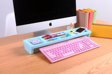 computer table Desktop finishing storage rack organizers Save a space Mobile phone pen cosmetics and so on