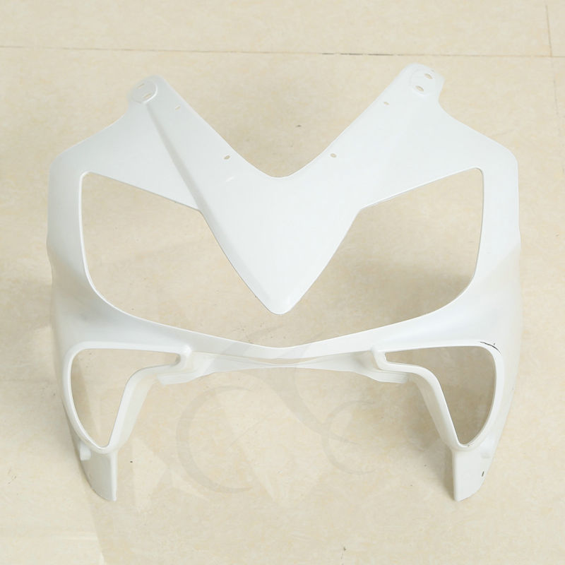 ABS Unpainted Upper Front Fairing Cowl Nose For Honda CBR600 F4I 2001-2008 04 05 upper front cover cowl nose fairing for kawasaki ninja zx6r 2012 2013 injection mold abs plastic unpainted