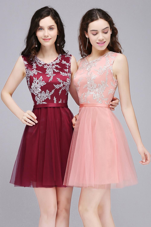 Short prom dresses 2018 Cheap Mint Green Pink vestido formatura ...