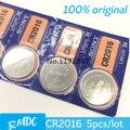 5 Pçs/lote RETAIL New DURADOURO CR2016 CR 2016 BR2016 Assista Botão de Célula tipo Moeda de Lítio Bateria Japão Marca 100% Genuíno Original