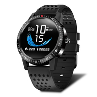 IP67 Waterproof Wearable Device Heart Rate Monitor Color Display Smart Watch T1 Smartwatch 30 Days Standby For Android IOS