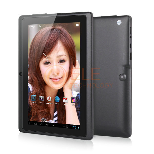 7 inch ATM7021 Dual core  android tablet pc HDMI Q88 512RAM 4GB ROM android 4.2 OTG WIFI capacitive Screen