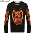 2016 New Autumn  o-Neck Pullover Men  Knitted Sweater Mens Sweaters  brand clothing Fall Knitwear  T6073