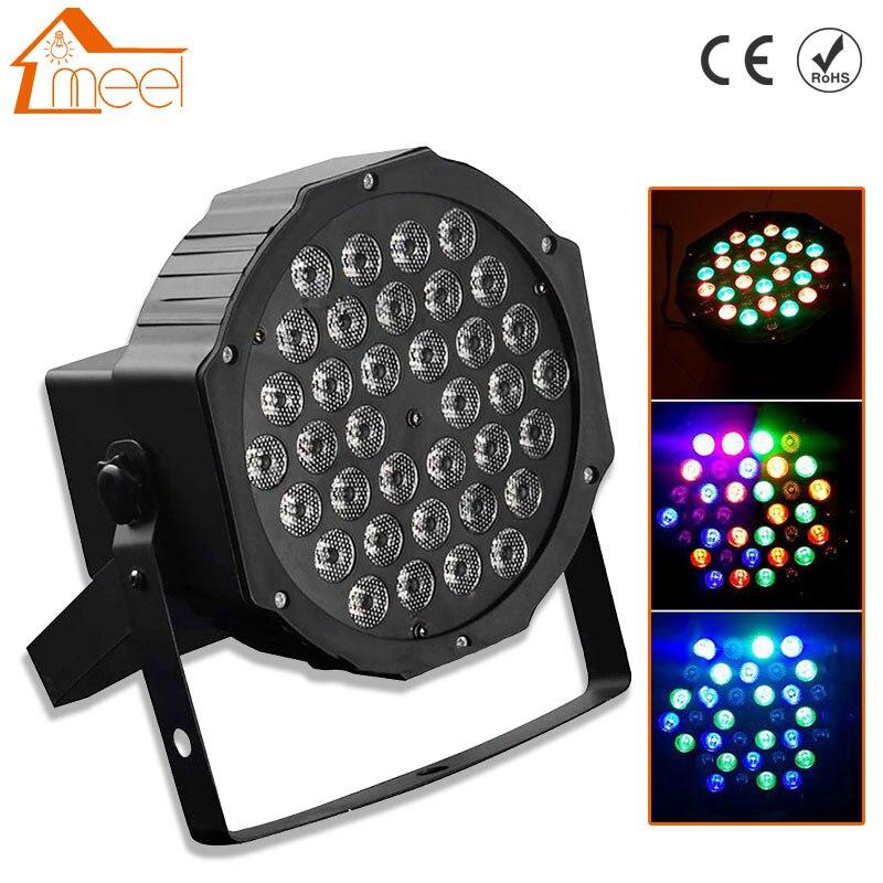 36 LED LED Bühne Licht RGB Kristall Magische Kugel Birne DMX Par Licht 110-240 V Disco Club Party licht