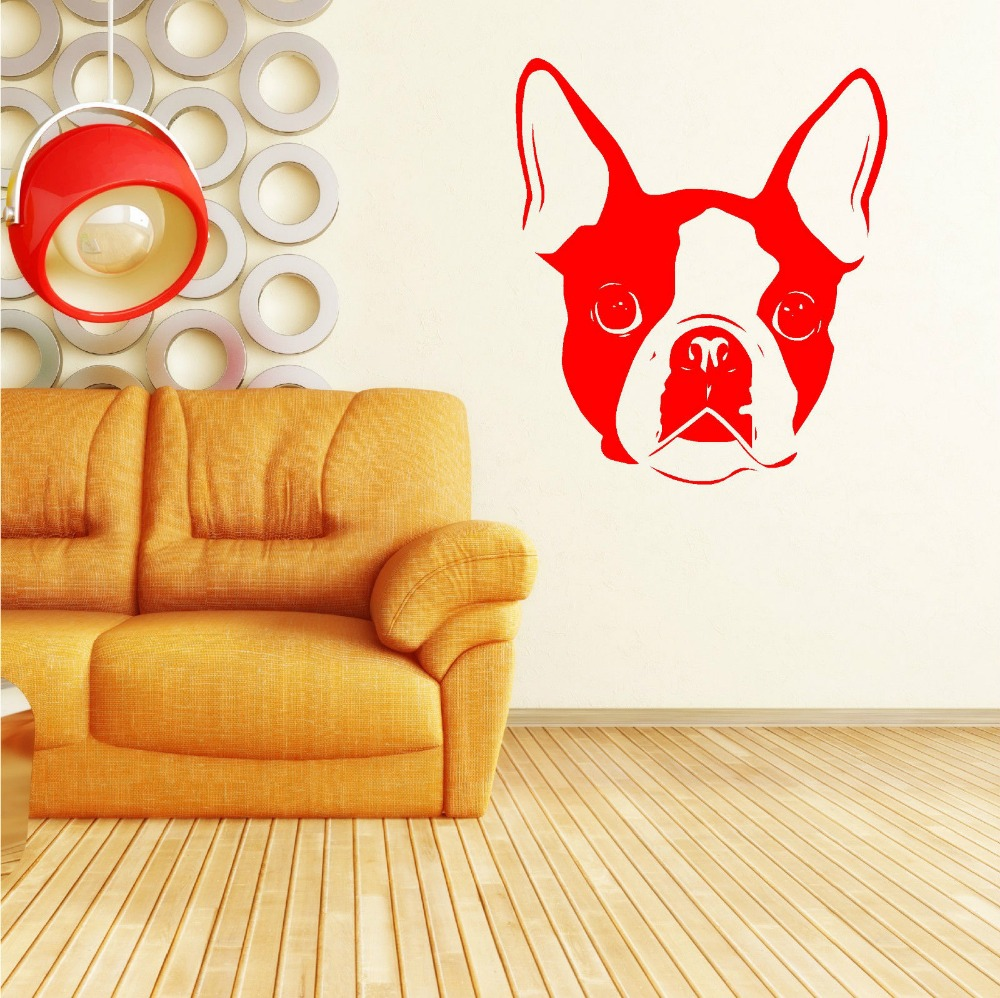 Aliexpress.com : Buy Cute Animal Wall Stickers For Bedroom BOSTON ...