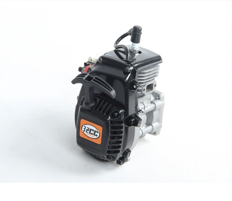 R320 (32CC four bolt engine ) with Walbro  carburetor, NGK spark plug For 1/5 HPI Baja 5B 5T 4 bolt 32cc engine and walbro 813 ngk spark plug metal clutch fits hpi baja 5b losi 5ivet redcat fg
