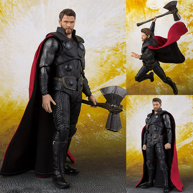 The Avengers Infinity War Thor Action Figure PVC New Collection Figures Toys Collection For Christmas