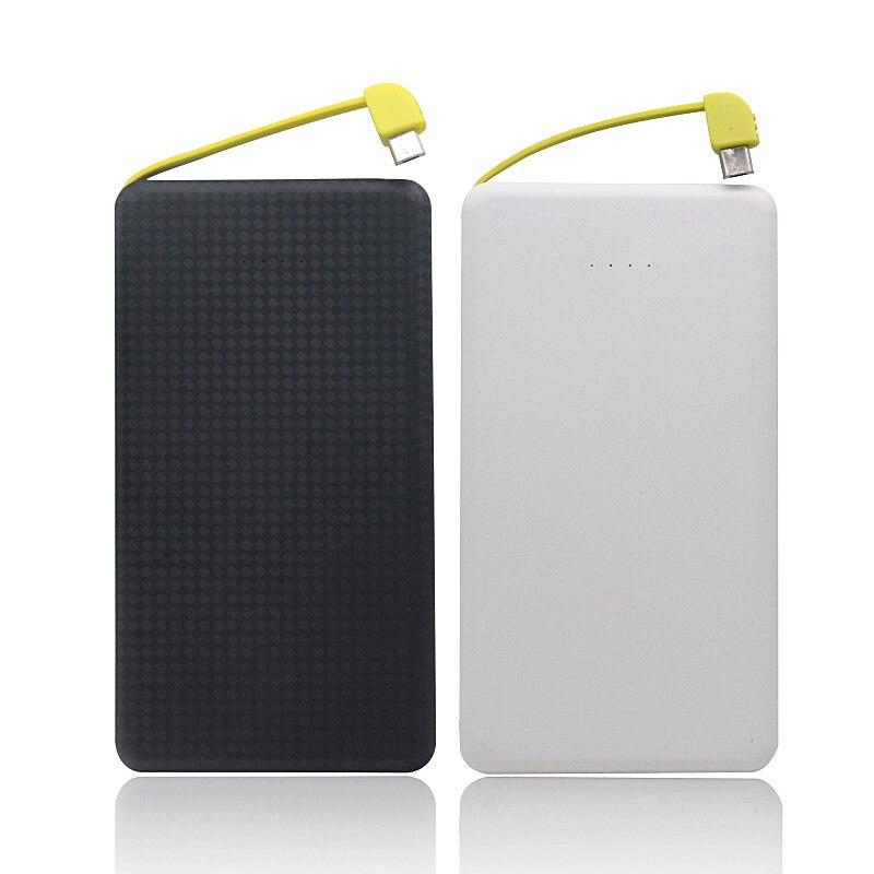 Power Bank Case Ultra Slim 8000mAh 5V/2A External USB Mobile Power Bank Battery Charger DIY Box