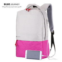 Fashion School Backpacks For Men and Women  New Design USB Charging Laptop luggage Travel  Mochila notebook Back Pack Canvas Bag