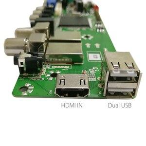 Image 4 - QT526C V1.3 Support Digital Signal DVB S2/T2/C ATV Universal LCD Driver Board Dual USB IN Russian T.S512.69 With 1ch 6bit 40pins
