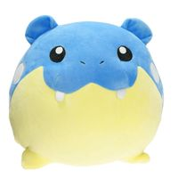 33cm Big Size Cartoon Plush Toy Spheal Obalie Seemops Stuffed Soft Dolls Baby Toys New Year Gift