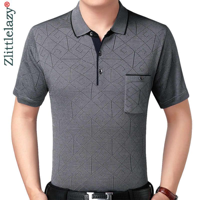 2019 prawdziwa kieszeń kulturystyka koszulka polo z krótkim rękawem koszula mężczyźni argyle polo lato pol koszulki męskie sukienka koszulka polo 6511