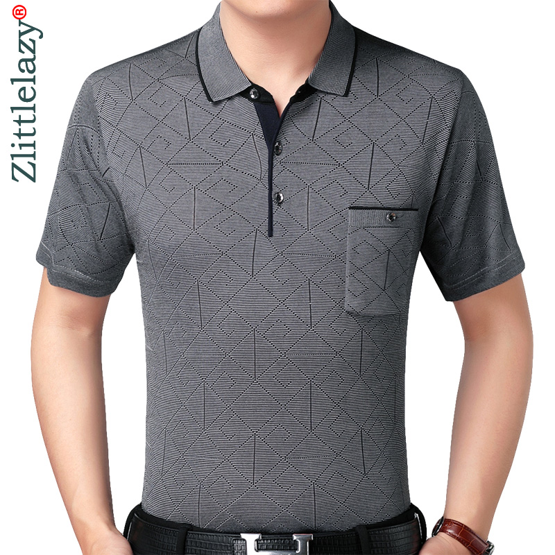 2019 real pocket bodybuilding short sleeve polo shirt men argyle polos summer pol tee shirts mens dress poloshirt jersey 6511