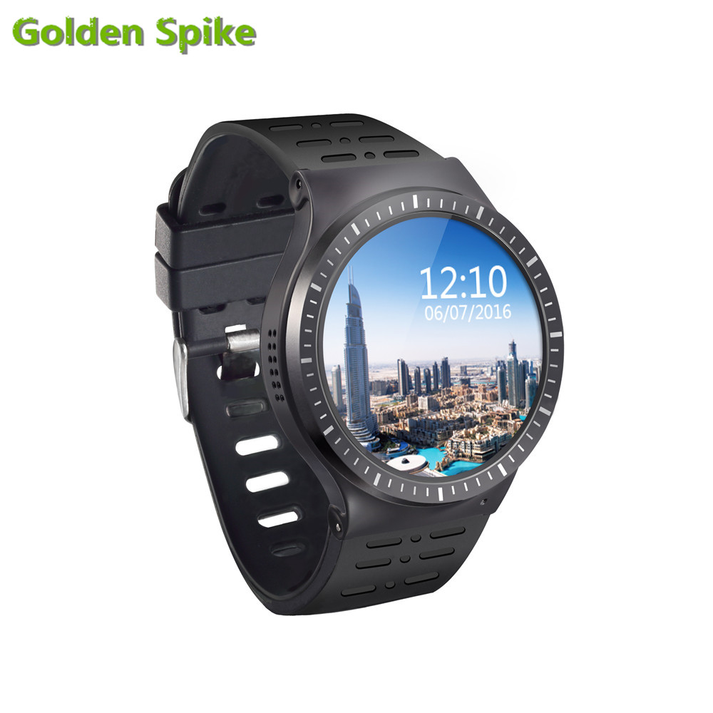 Android 5.1 P9 Smartwatch GSM 3G Quad Core 8GB ROM Smart Watch With Camera GPS WiFi Bluetooth V4.0 Heart Rate Monitor PK S99A K8 huadoo v3 ip68 waterproof quad core android 4 4 3g smartphone w 4 0 wifi nfc 8gb rom bluetooth