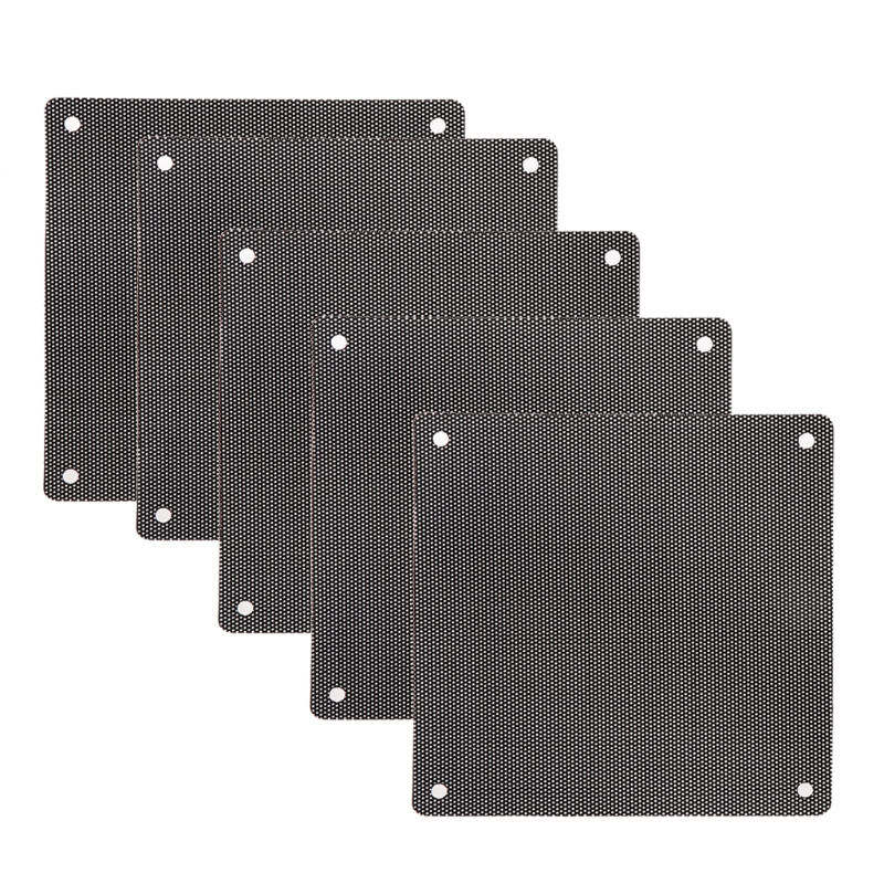 Image 5 - 5Pc Computer Mesh PVC Case Fan Dust Filter Dustproof Cover Chassis Dust Cover hyq