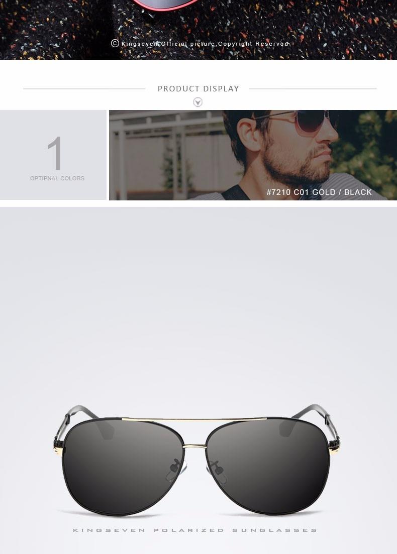 2017 Retro Quality Brand Original Sunglasses Men Polarized Lens Vintage Eyewear Accessories Gold Sun Glasses Oculos For Men 4