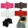 Palace Style Wide Band Waist Belt Cincher Corset Elastic Waistband 5Colors Women Accessories
