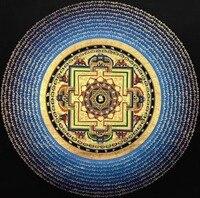 Thangka boutique Number V3 six words mantra altar Size 73 * 73