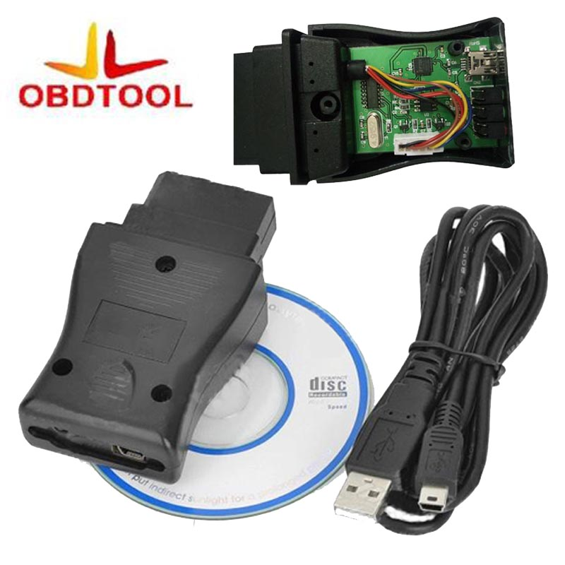 Haute Qualité pour Nisan C0nsult POUR USB Interface De Diagnostic OBD2 NS CON--SULT USB 14 Broches Interface Auto Scanner 1 pc