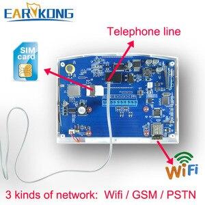Image 5 - جهاز إنذار إنتركوم, جهاز إنتركوم إنذار ضد اللصوص واي فاي GSM نظام حماية 433 ميجا هيرتز خط هاتفي PSTN و SIM جهاز إنتركوم كاشف بطاقة صوت مع تطبيق محمول