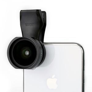 Image 2 - SIRUI 18mm רחב זווית עדשת טלפון קליפ על עדשת HD 4K אלומיניום דיור מצלמה עדשה עבור iPhone XS X סמסונג S9 S8 Huawei נייד
