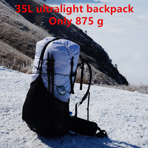 Image 2 - 3F UL GEAR GuiJi 35L XPAC & UHMWPE Lightweight Durable Travel Camping Hiking Backpack Outdoor Ultralight Frameless Packs Bags