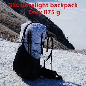 Image 2 - 3F UL ギア GuiJi 35L XPAC & UHMWPE 軽量耐久性のある旅行キャンプハイキングバックパック屋外超軽量フレームレスパックバッグ
