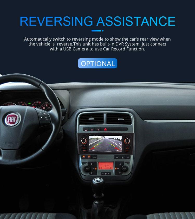WIFI GPS DVD フィアット 12