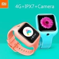 Оригинальный 1,4 дюйма 4G Xiaomi Kid Смотреть Sim gps с Камера трекер Телефонный звонок мобильного IPX7 часы с 1 г хранения Камера Смарт часы