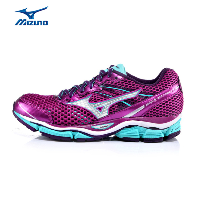 Mizuno Women\u0027s WAVE ENIGMA 5 Cushioning Breathable Stability Light Jogging  Running Shoes Sneakers Sports Shoes J1GD150202
