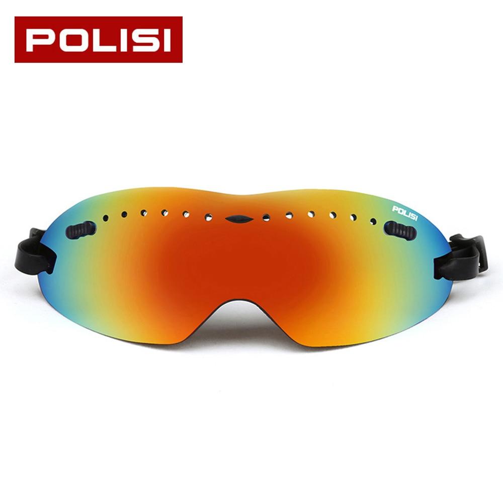 Prix pour POLISI UV Protection Hommes Femmes Snowboard Lunettes Anti-brouillard Sport Ski Lunettes Vent Preuve Professionnel Ski Lunettes Masque