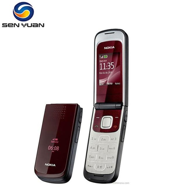 2720 Giá Rẻ Nhất điện thoại Ban Đầu Nokia 2720 fold Unlocked điện thoại Di Động Bluetooth java Miễn Phí Vận Chuyển