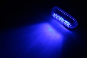 Image 5 - 10 Pcs 6LED מתחת למים נוף אור 12 V הימי סירת לילה מים דיג אור סירת אביזרים